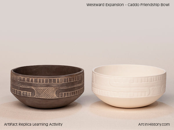 Paint Your Own Caddo Friendship Bowl Replica