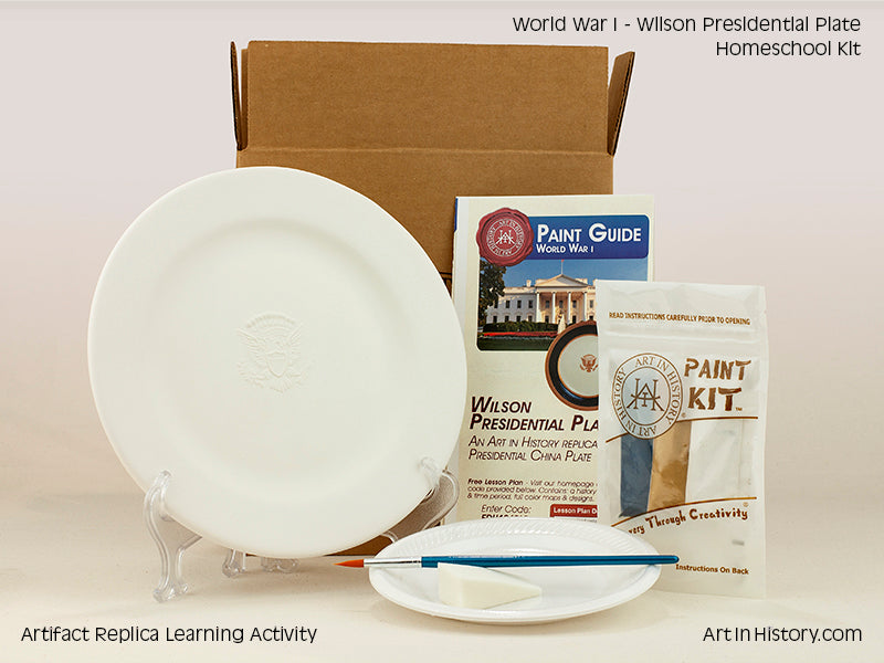 Paint Your Own Presidential Plate Replica