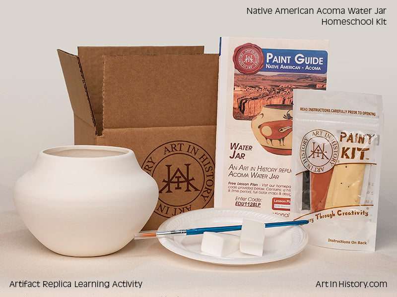 Paint Your Own Native American Water Jar Replica