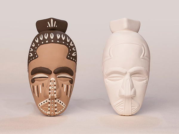 African Mask Replica Kits - 10 Kit Bundle