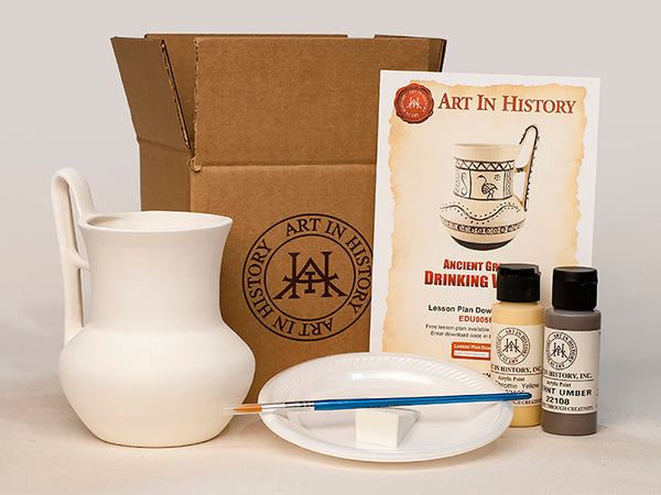 Greek Pottery Replica Kits - 10 Kit Bundle