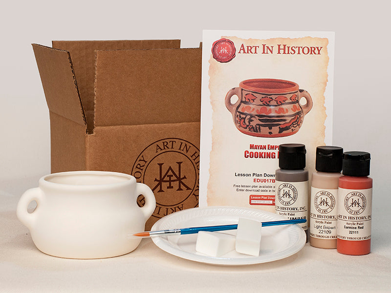 Maya Cooking Pot Replica Kits - 10 Kit Bundle