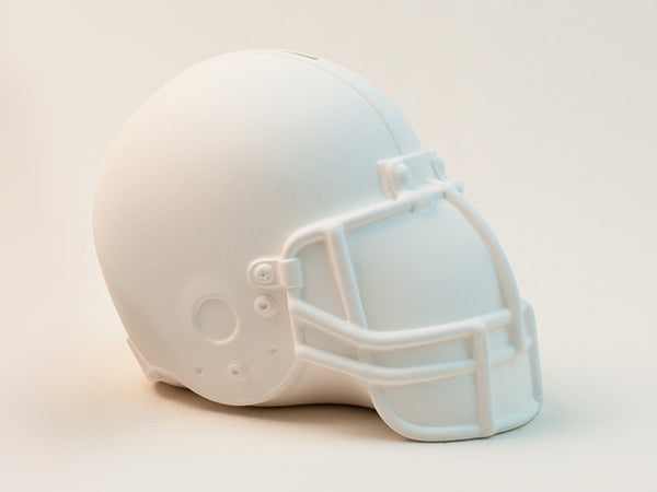 Paint Your Own Football Helmet Coin Bank