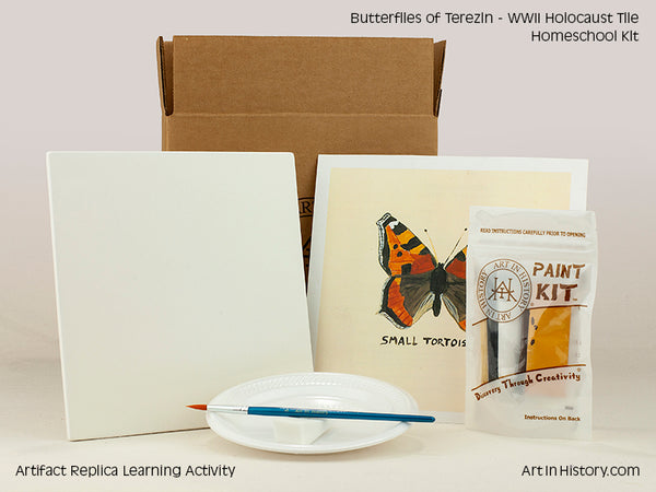 Paint Your Own WWII Holocaust Butterfly