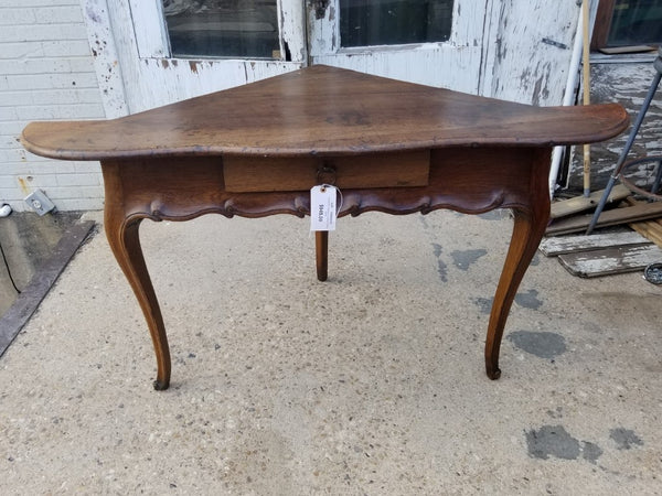 Early Country French Corner Table or desk