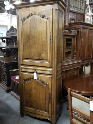 Tall Country French Armoire or Homme du Bous