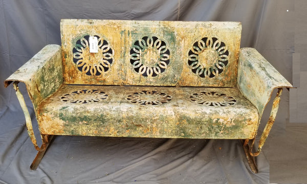 Prime Vintage Metal Porch Glider Onthecornerstone Fun Painted Chair Ideas Images Onthecornerstoneorg