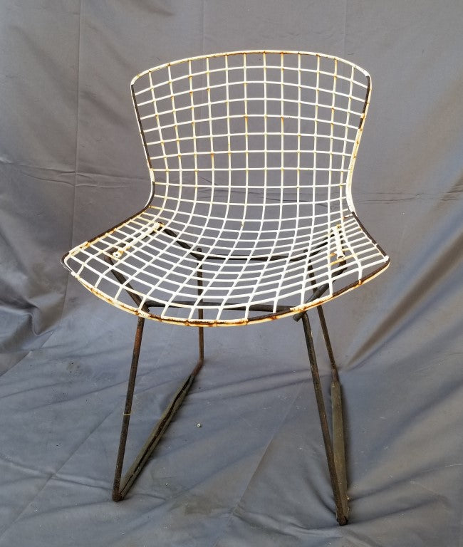DESIGNER WIRE CHAIR-AS IS CONDITION