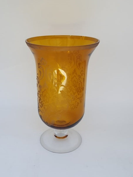 TALL GOLD VASE-decor