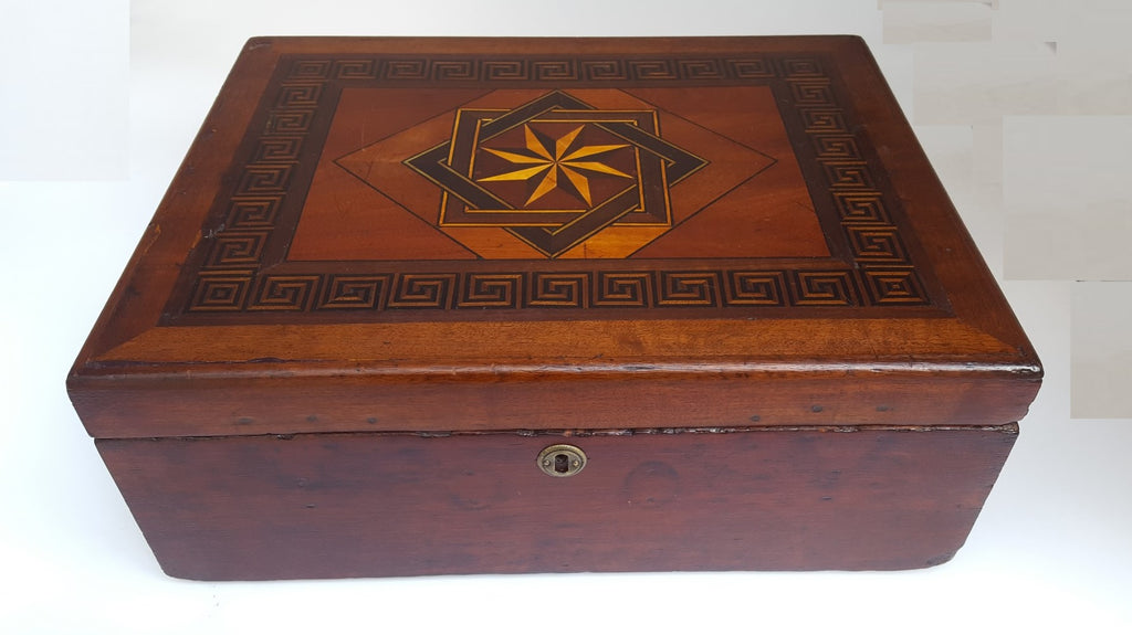 EARLY INLAID BOX