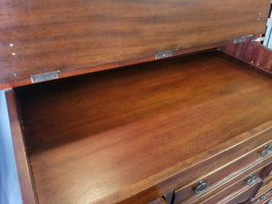 REPRODUCTION MAHOGANY STANDING DESK