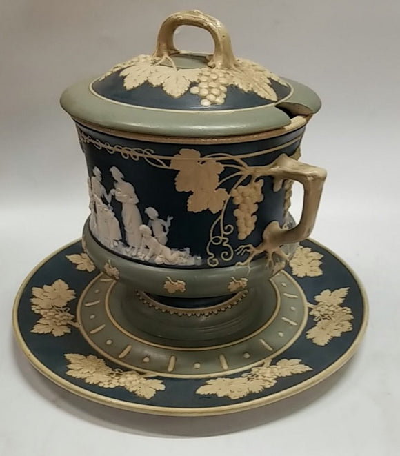 METTLACH TUREEN-collectible