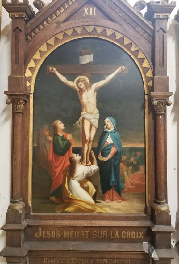 12TH STATION OF THE CROSS