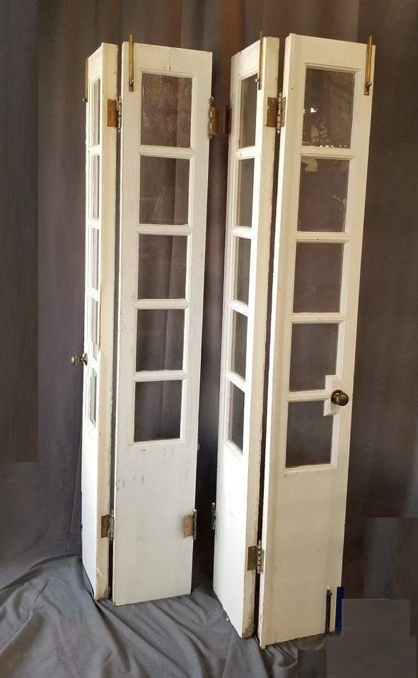 SET OF 4 HINGED SIDELIGHTS or DOORS