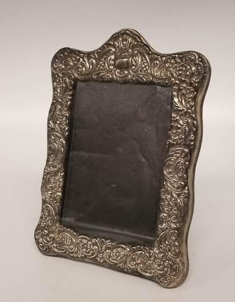 ORNATE SMALL SILVER FRAME