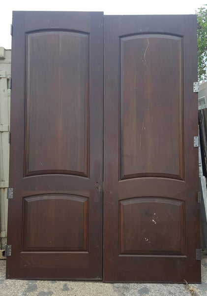 BEAUTIFUL MAHOGANY DOOR SET-10 FOOT TALL