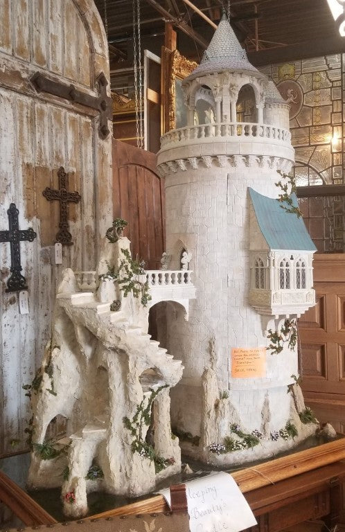 FANTASTIC CASTLE DOLL HOUSE - FULLY FURNISHED