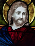JESUS STAINED GLASS  WINDOW