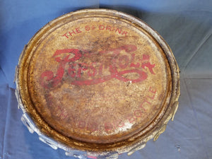 LARGE ANTIQUE PEPSI SYRUP CAN