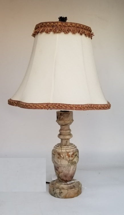 SMALL ALABASTER LAMP