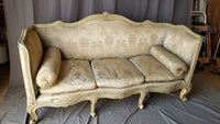 LOUIS XV STYLE HIGH BACK AND ARMS SOFA