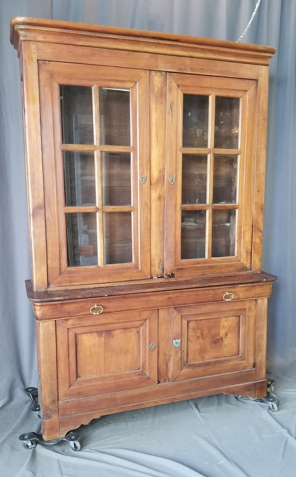 LOUIS PHILIPPE CHERRY BOOKCASE
