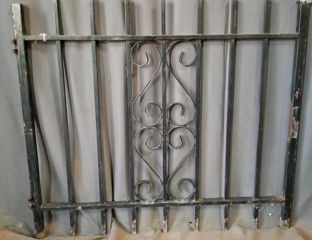 "SMALL IRON FENCE GATE 34"" X 30"""