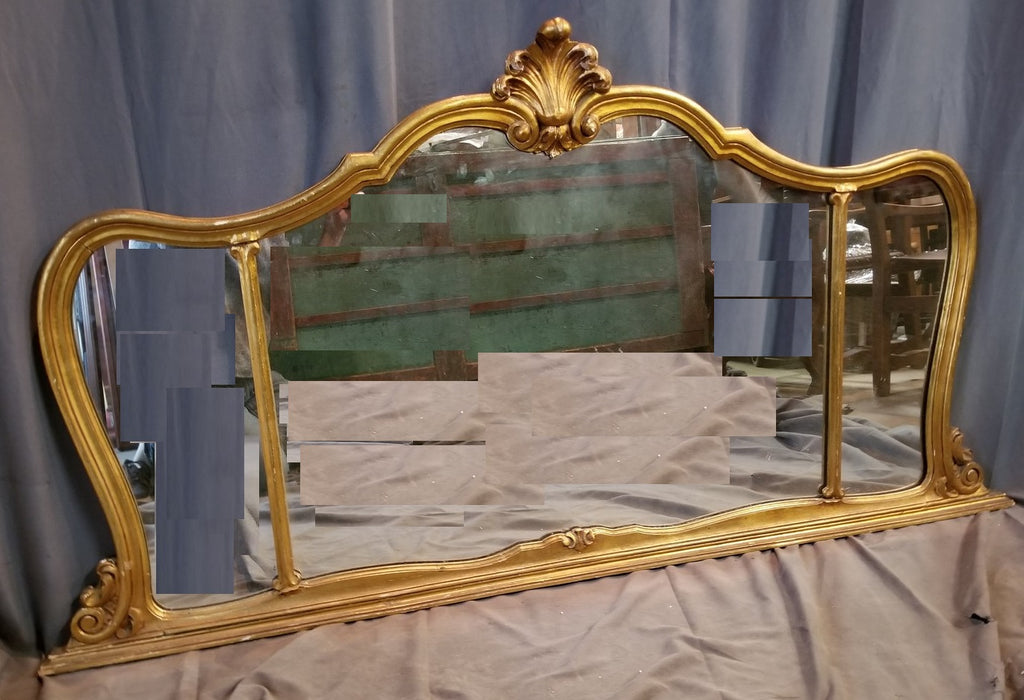 GILT BUFFET MIRROR