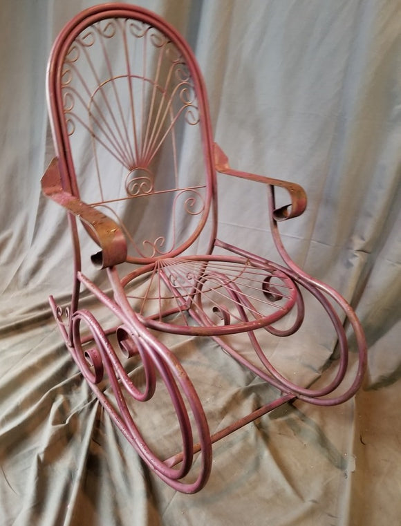 PURPLE METAL TUBE ROCKER