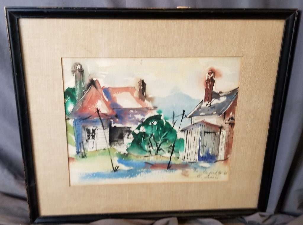 WATER COLOR OF BUFORD GEORGIA