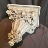 CHALK CHURCH SCONCE-RECTANGULAR TOP