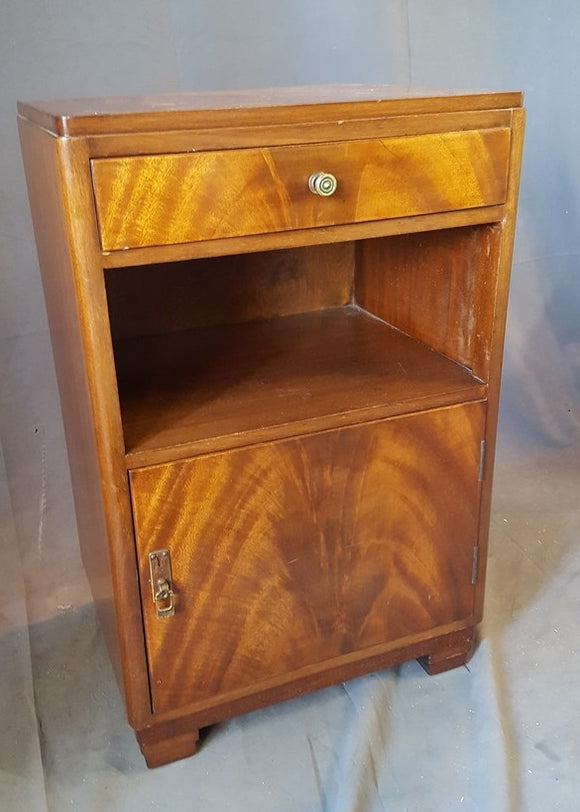 ENGLISH MAHOGANY NIGHT STAND