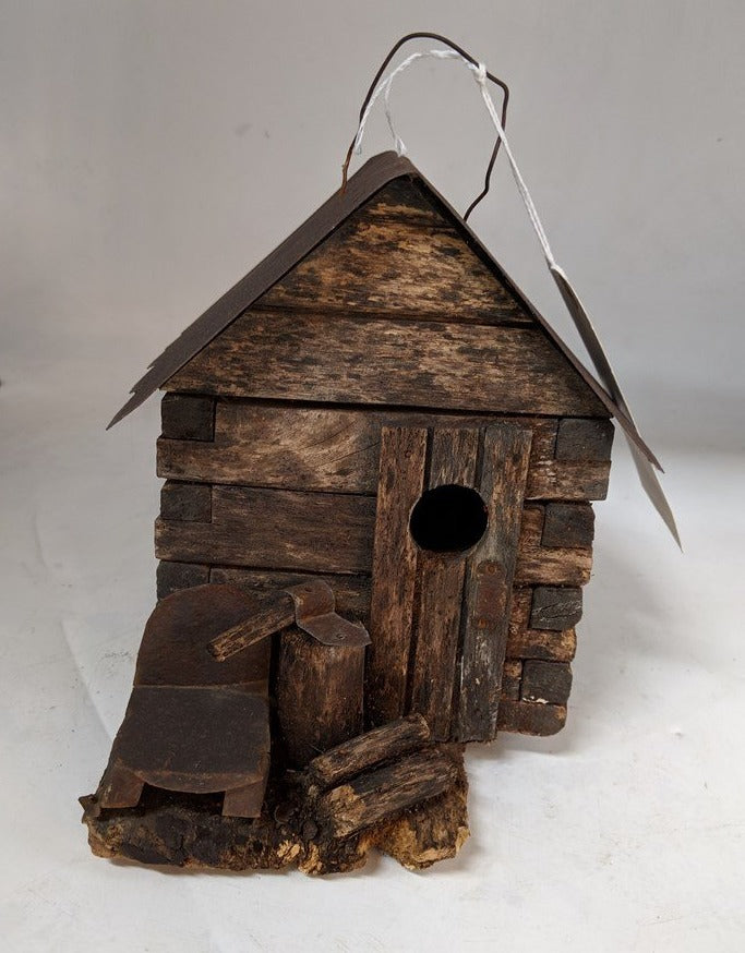 ABE LINCOLN BIRD HOUSE