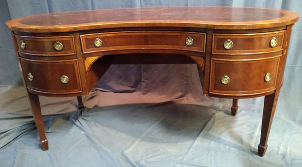KIDNEY SHAPED DESK-NOT OLD