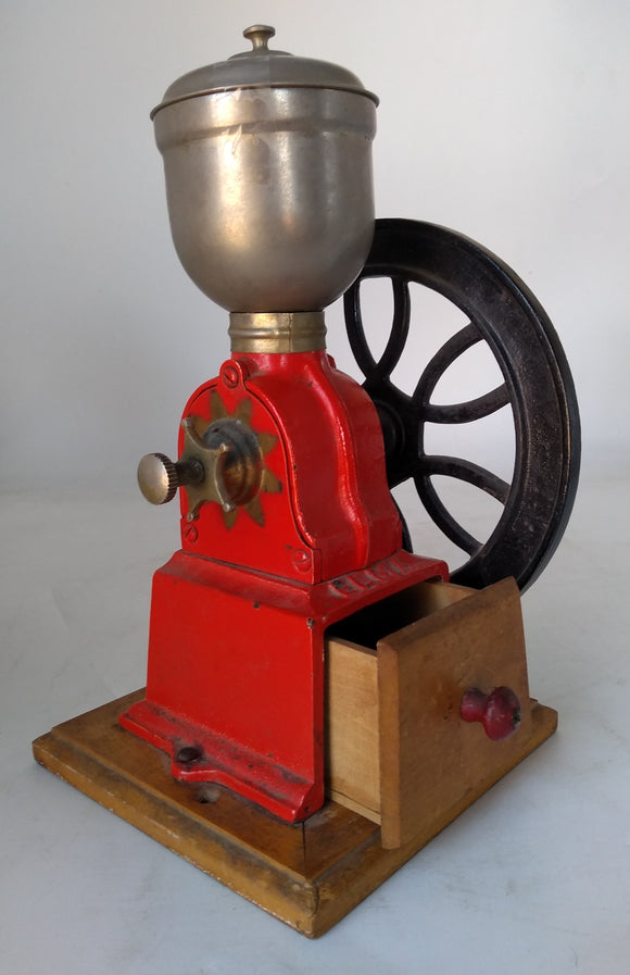 ANTIQUE ELMA COFFEE GRINDER-SALESMAN SAMPLE