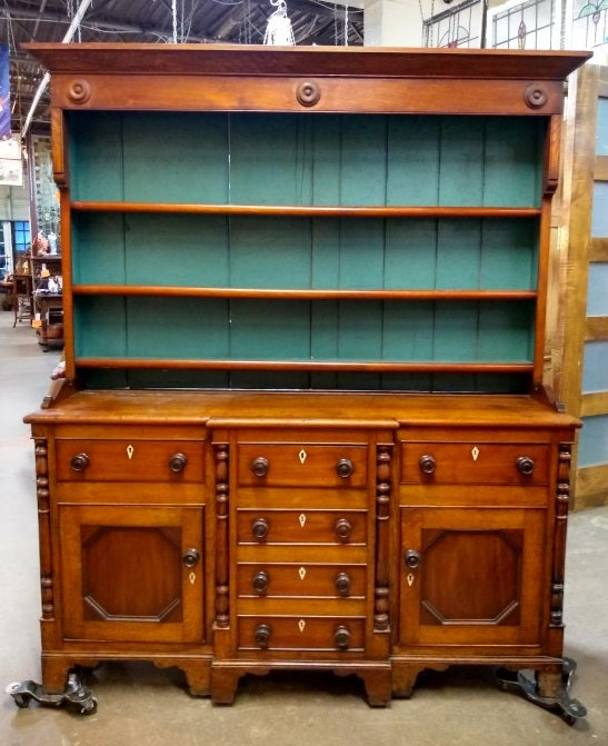 ENGLISH 1870'S WELSH CUPBOARD