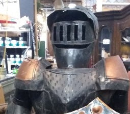 KNIGHTS ARMOUR- DECORATIVE AS FOUND