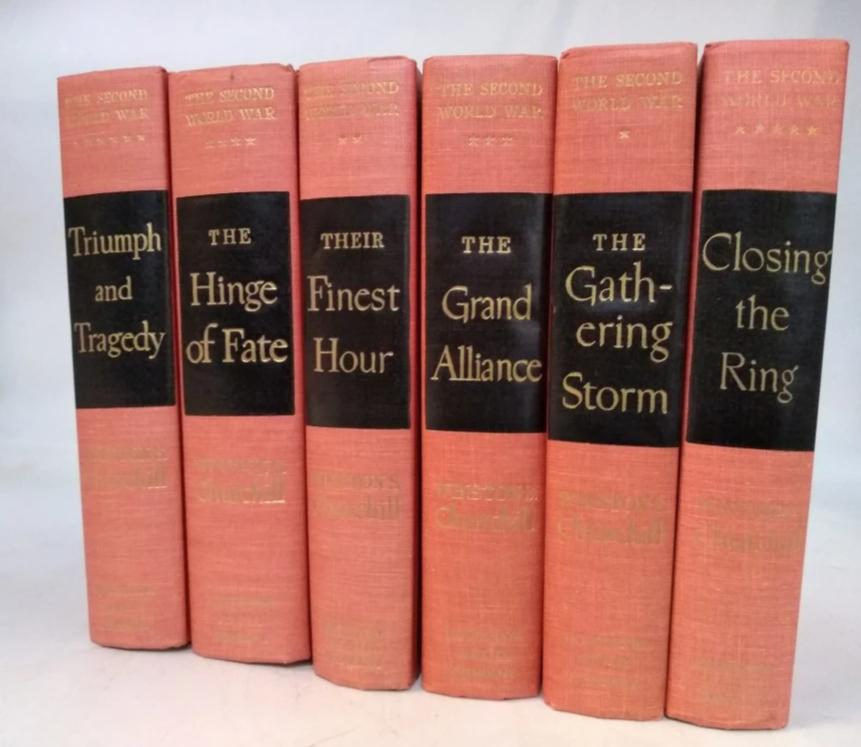 SET OF 6 CLASSIC BOOKS-WINSTON CHURCHILL