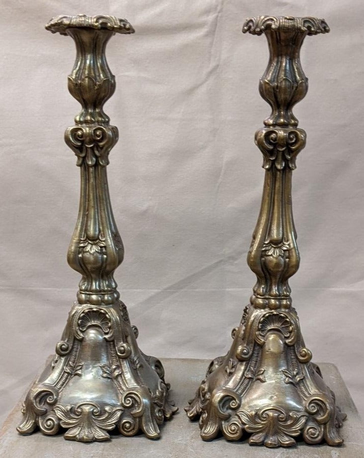 HEAVY METAL CANDLE STANDS