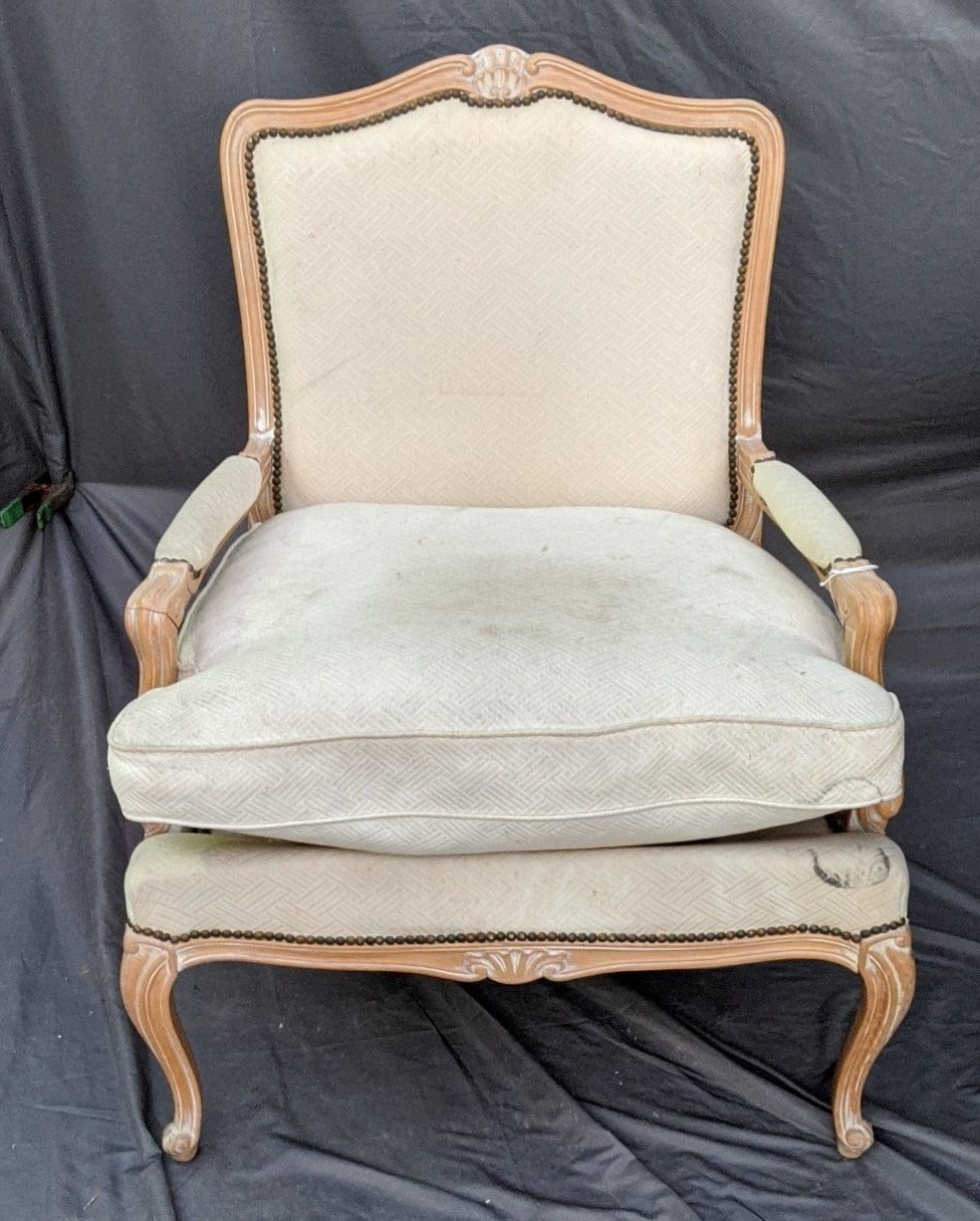 LOUIS XV STYLE ARM CHAIR-PROJECT