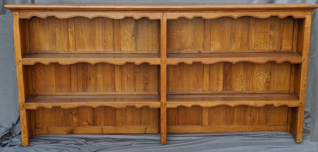OAK WELSH CUPBOARD TOP OR WIDE BOOKCASE