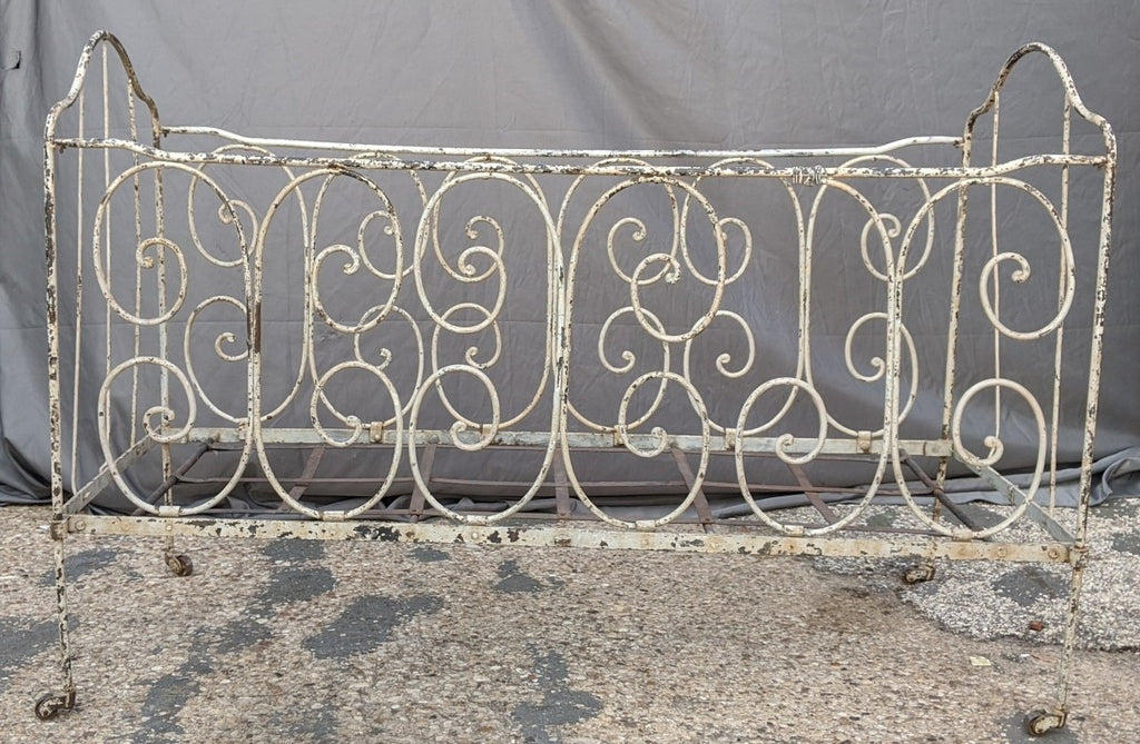 FRENCH IRON BABY BED