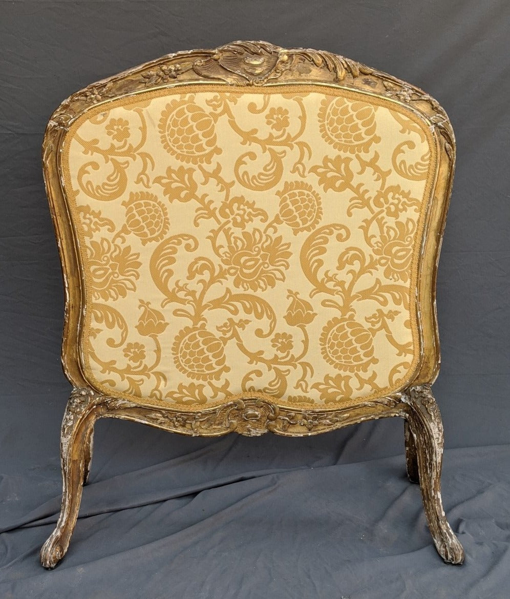 GILT FRENCH LOUIS XV FIRE SCREEN