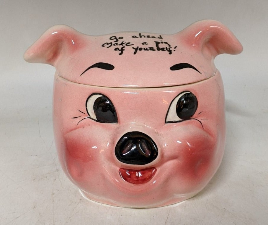 1944 COLLECTIBLE PIG COOKIE JAR