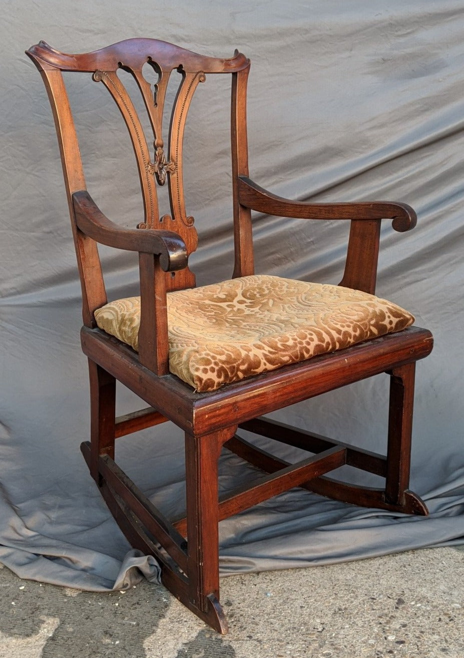 ENGLISH GEORGIAN PERIOD ROCKER