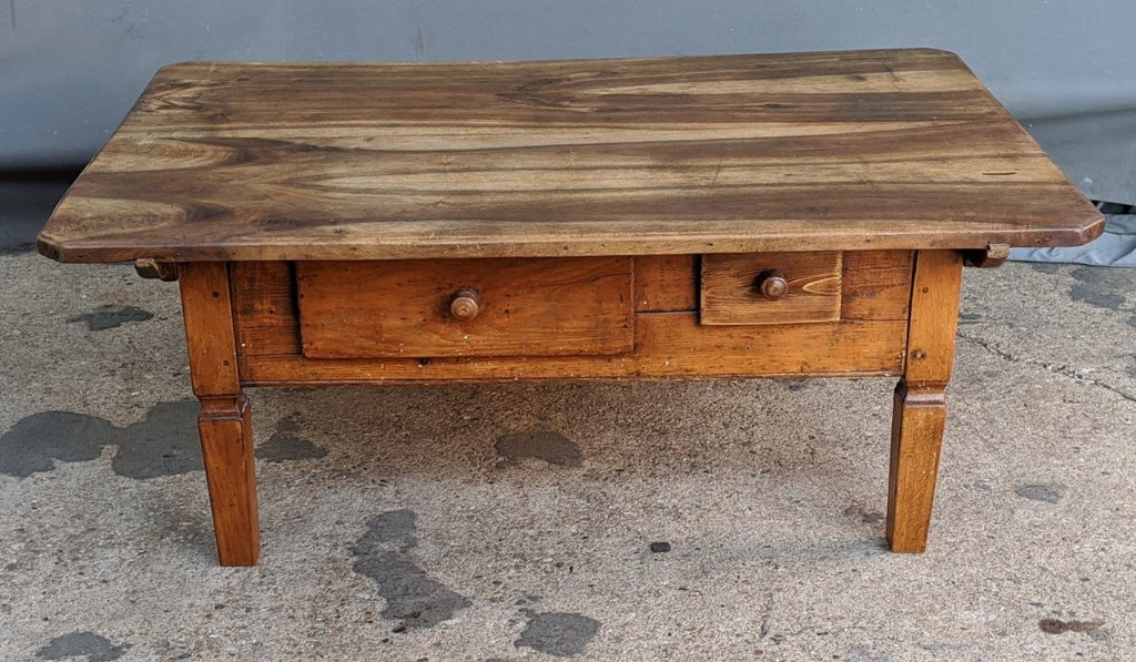 COFFEE TABLE MADE FROM EARLY WORK TABLE
