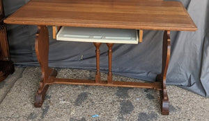 ENGLISH WRITING TABLE CONVERTED TO COMPUTER DESK