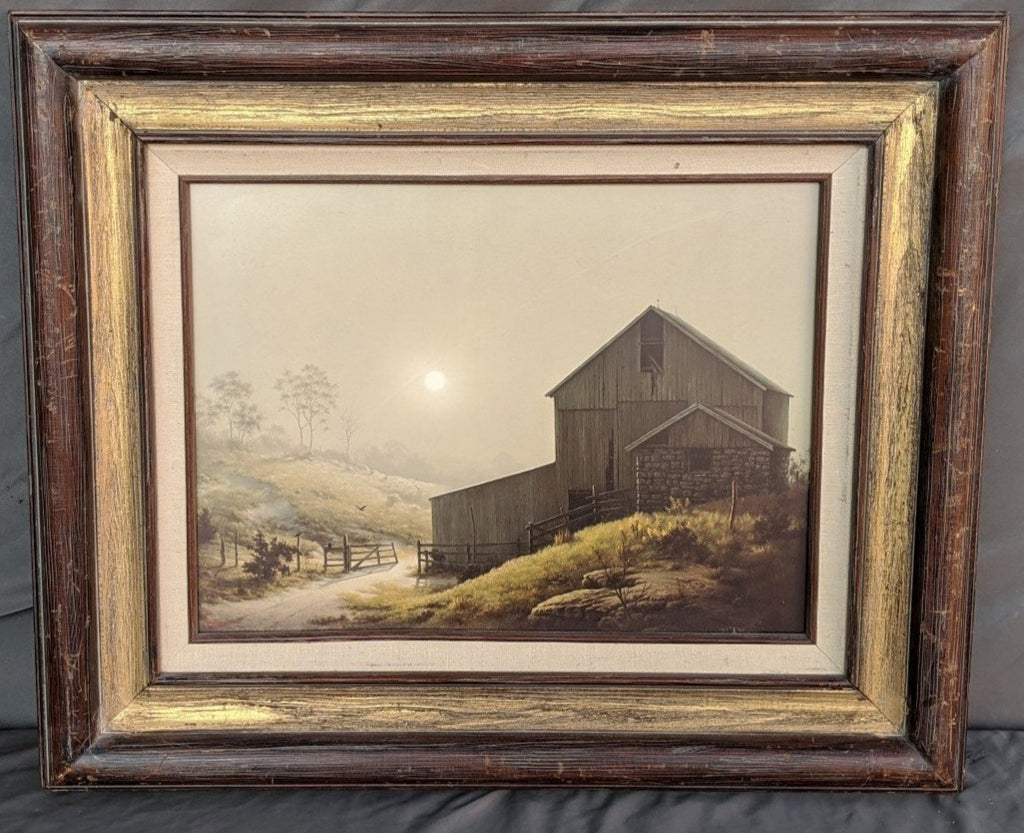 A MISTY COUNTRY MORN BY DALHART WINDBERG-OPEN EDITION