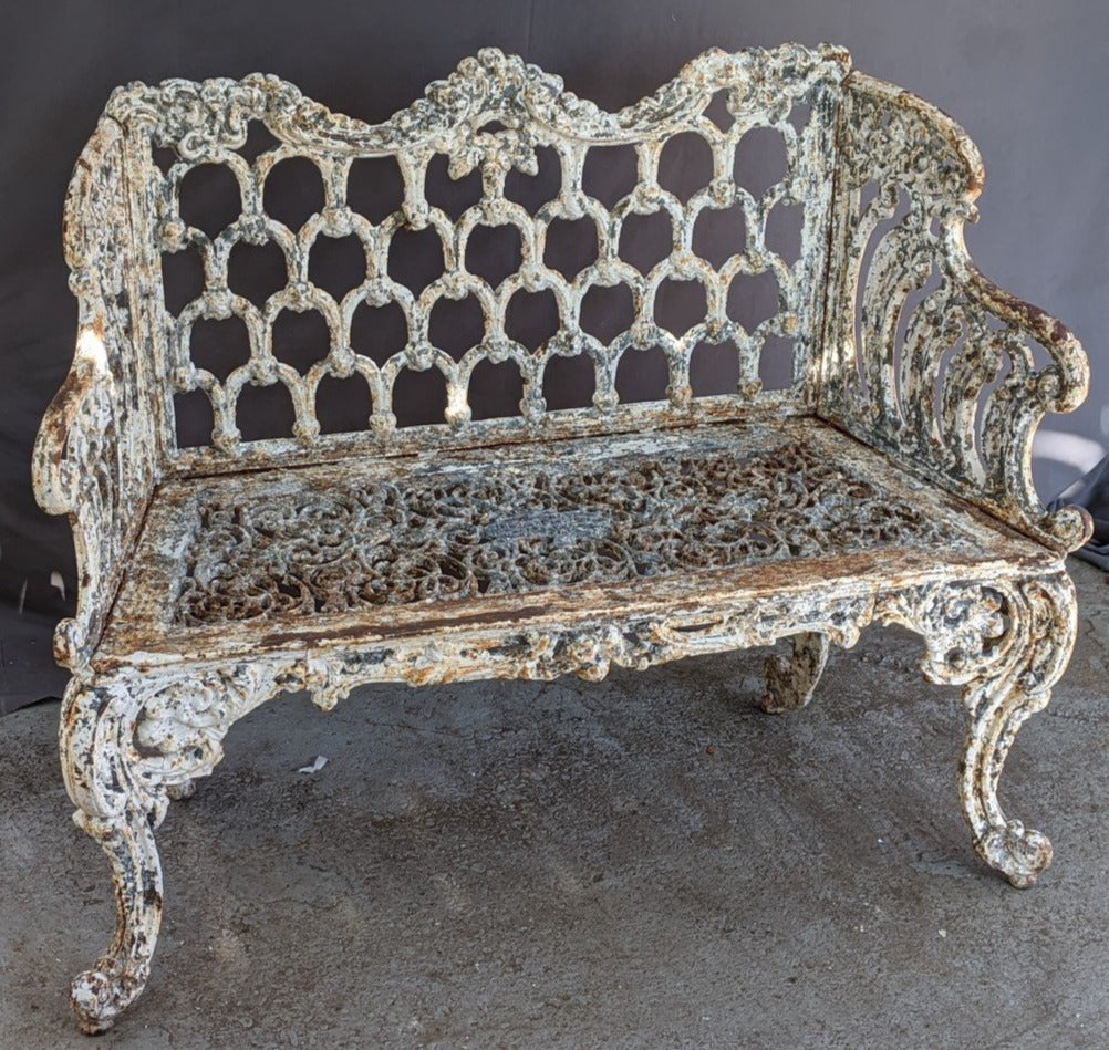 HEAVY CAST IRON BENCH