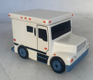 ARMORED VAN COOKIE JAR OR GIFT BOX- NO BRANDING